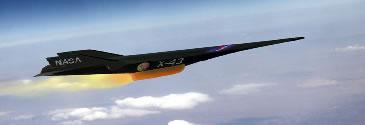 X-43 aircraft